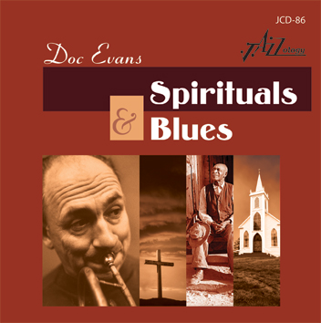 Cover image of Doc Evans Spirituals & Blues CD.